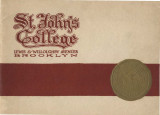 St. John's University Advertising Brochure
