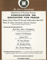 Convocation Program