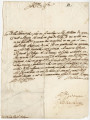 Letter from Gregorio Barbarigo