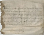 Letter from Pope Alexander IV