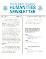 The St. John's University Humanities Newsletter