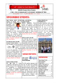 Rome Campus MA/MBA Graduate Program Newsletter