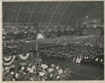 Photograph of the first general commencement, June 1949