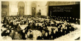 Photograph of the Vincentian Club's Annual Banquet honoring Reverend William Slattery, C.M.