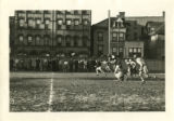 Photograph of St. John's College students playing football