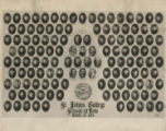 Photograph of St. John's College - School of Law, class of 1930 (10:30-12:30 session)