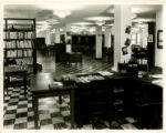 Photograph of Law Library at Schermerhorn Street Campus