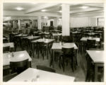 Photograph of the cafeteria at Schermerhorn Street Campus DePaul Building