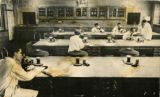 Photograph of a pharmacy lab at the Schermerhorn Street Campus