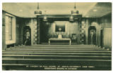 Postcard of the Chapel at Schermerhorn Street Campus