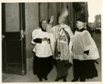 Photograph of the Blessing of the DePaul Building at 72 Schermerhorn Street