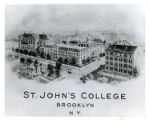 Drawing of the St. John's College Lewis Avenue campus