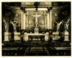 Photograph of Pontifical Mass at St. John the Baptist Church