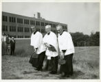 Photograph of St. Augustine Hall groundbreaking