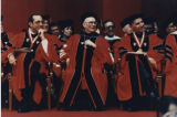 Photograph of commencement, 1989