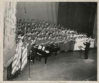 Photograph of St. John's University Glee Club, and other choirs