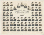 Photograph of St. John's University - School of Law, class of 1942