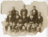 Photograph of St. John's College Basketball Team.